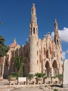 Het heiligdom van Santa María Magdalena